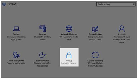 pitt technology help desk customizing windows 10 privacy settings information