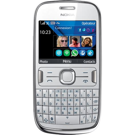 mobile nokia asha the best mobiles the best price nokia asha 302 white