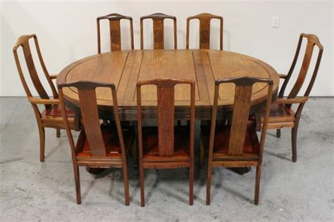 rosewood dining room set 9pc rosewood dining room set