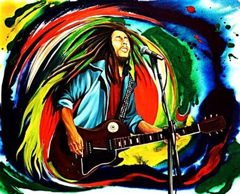 imagenes abstractas reggae arte psicod 233 lico bobmarley music artwork musicart www