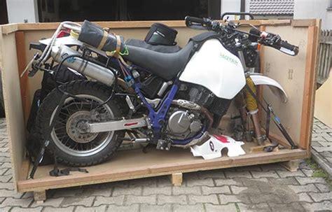 Motorradtransport Deutschland by Motorrad Deutschland Nach S 252 Damerika Spedition F 252 R