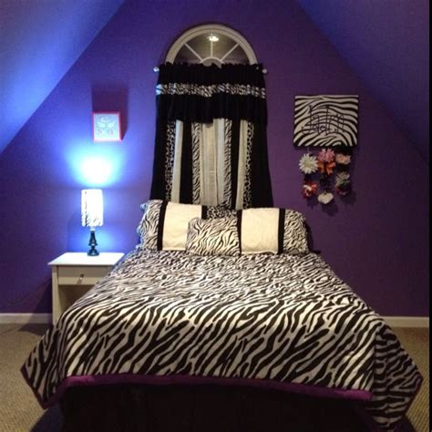 zebra decorations for bedroom two of my favorite things for a room purple and zebra
