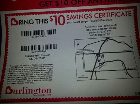 10 Burlington Coat Factory Printable Coupons