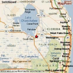 map of glade florida glade florida