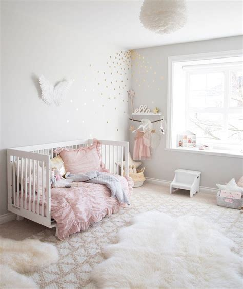 Pink Bedroom Ideas For Toddlers by Pink And Grey Toddler Bedroom Ri Place For