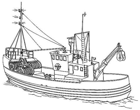 boat drawing with colour 21 printable boat coloring pages free download http