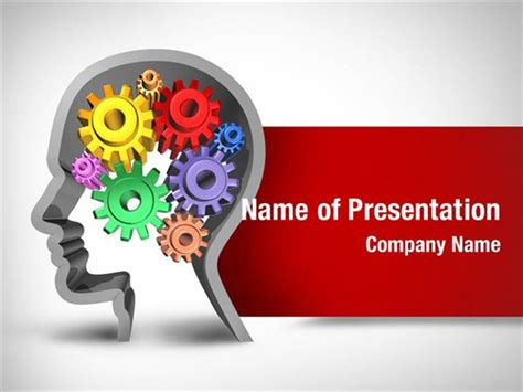 template ppt free brain brain function powerpoint templates brain function