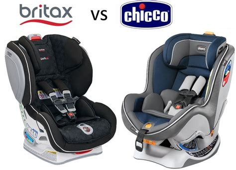 infant car seat brands this britax vs chicco review compares the car seats