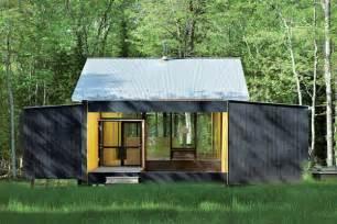 Prefab cottage homes modern modest lake house modern house