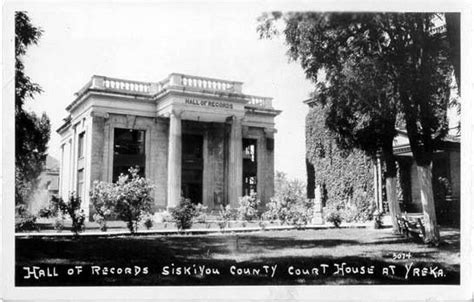 Shasta County Court Records Postcards From Siskiyou County Ca