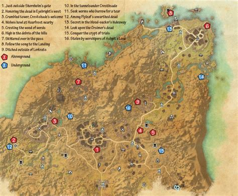 Skyshard Eso Locations Map | skyshard eso locations map newhairstylesformen2014 com