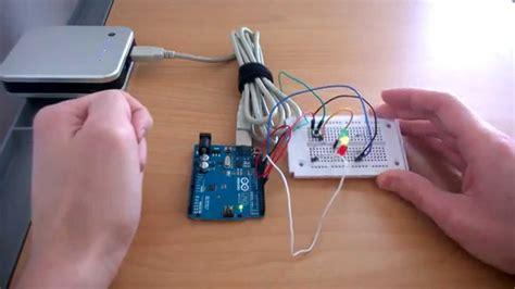 tutorial arduino deutsch arduino lauflicht mit taster bauen hardwarebau
