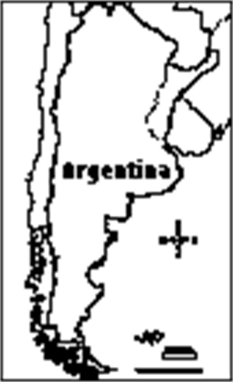 argentina map coloring page coloring pages sudamerica