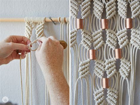 How To Make A Macrame - macram 233 rocks a story think make