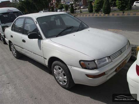Sale Toyota Corolla Used Toyota Corolla 1998 Car For Sale In Lahore 876298