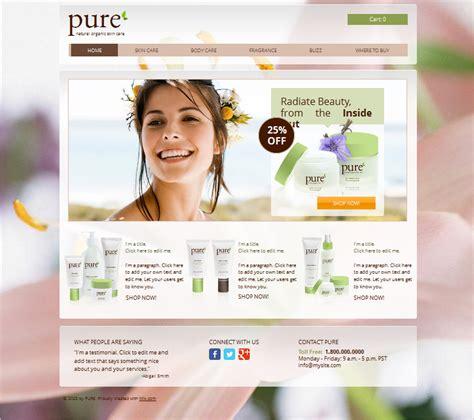beauty salon website template 17391 26个以美容为主题的模板和主题 创意悠悠花园