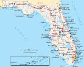 florida map in us florida map listings united states