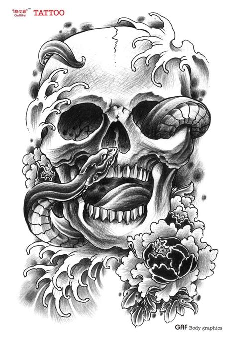 snake and skull tattoo designs collection of 25 roses snake and skull designs