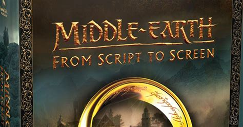 middle earth from script to screen building the world of the lord of the rings and the hobbit books neuerscheinung middle earth script to screen deutsche