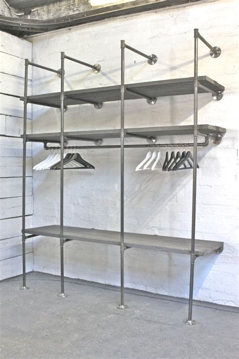 Dressing Rack by 25 Best Ideas About Industrial Closet On Pipe