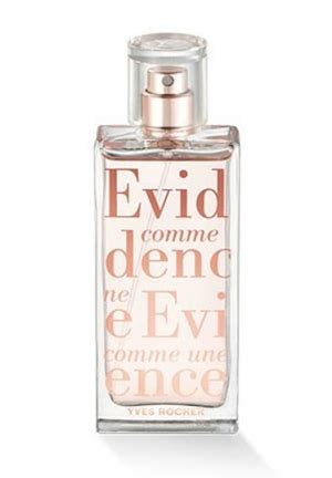 comme une 201 vidence eau de parfum limited edition yves rocher perfume a new fragrance for