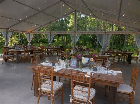 the farm tables at anthony wayne house a country wedding