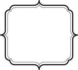 18 plaque shape clipart