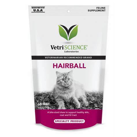 hairball remedy for dogs vetriscience hairball chews hairball remedy for cats 60 chews