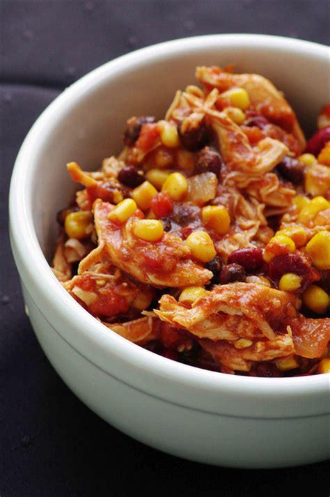 crock pot chicken taco chili recipe dishmaps