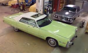 Old Barn Estate Newport 1973 Chrysler Imperial Super Low Miles Code Name Key Lime
