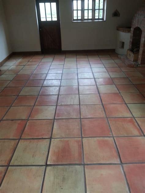 Dull Tile Floor by Dull Terracotta Tiles Restored In Great Gransden Tile
