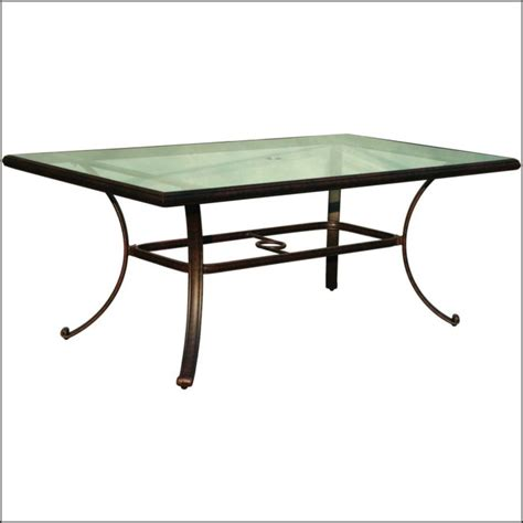 glass top patio table replacement patios home