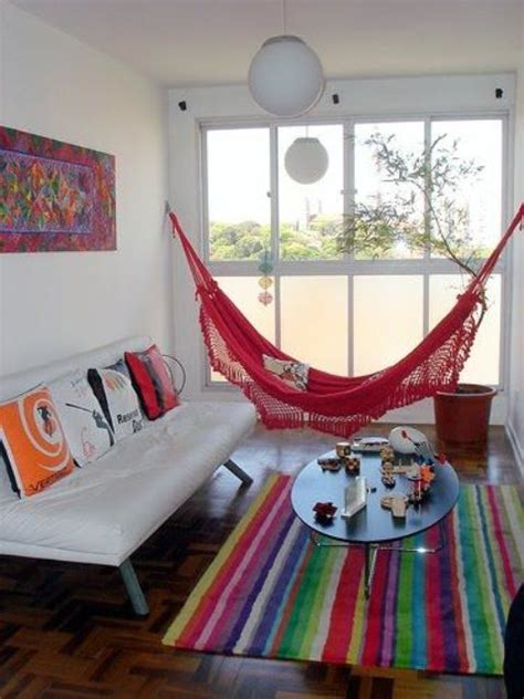 hammock in living room 26 ways to incorporate hammocks into your interior