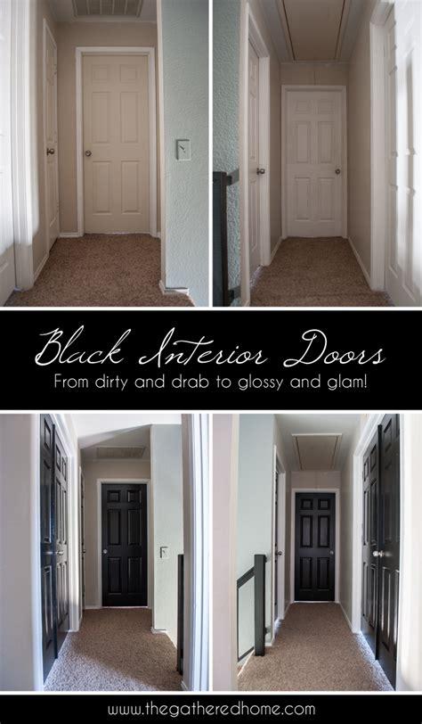 black interior door black interior doors the gathered home