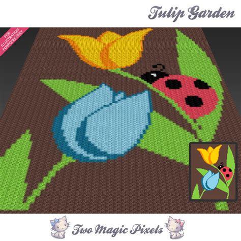 pattern magic 3 pdf free download tulip garden c2c graph crochet pattern twomagicpixels