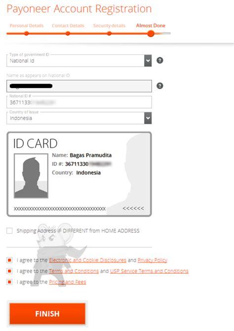 membuat kartu kredit payoneer cara membuat kartu kredit mastercard gratis di payoneer