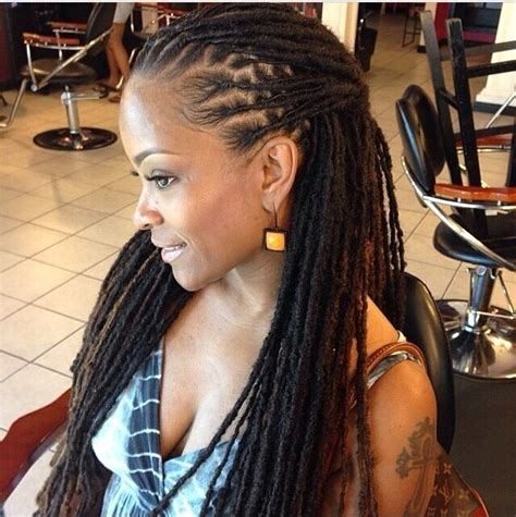 dreads extension hairstyle for women gorgeous locs http community blackhairinformation com