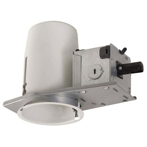 Recessed Lighting Insulated Ceiling Halo H36 3 In Steel Recessed Lighting Housing For Remodel Ceiling No Insulation Contact Air