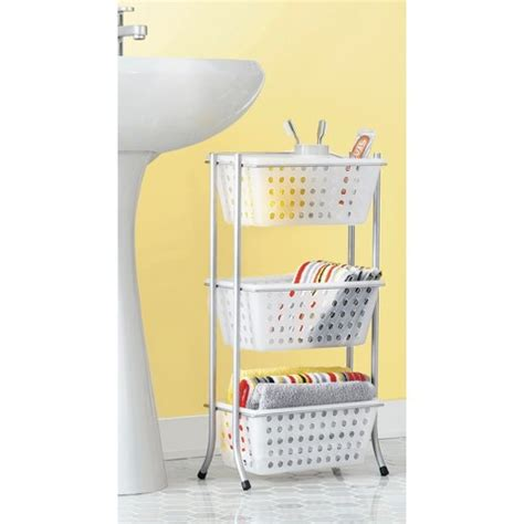 bathroom tote organizer bath storage rack with removable totes frost roo target
