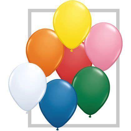 "11"" qualatex latex balloon standard assortment w/white"