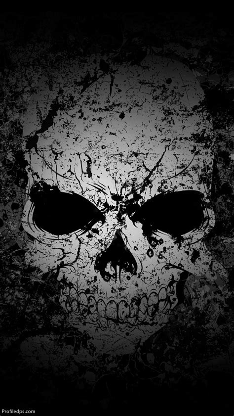 whatsapp skull themes hd skull profile pictures for whatsapp