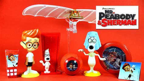Mister Peabody And Sherman Set Happy Meal Mc Donalds Mcd Mekdi Murah mr peabody sherman happy meal toys 1 6 mcdonalds 2014