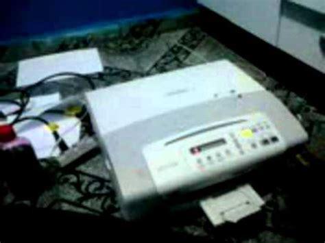 reset da impressora brother dcp j125 reset da brother dcp 165 c youtube