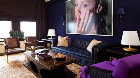 Purple And Gold Living Room by 20 Purple And Gold Living Rooms Home Design Lover