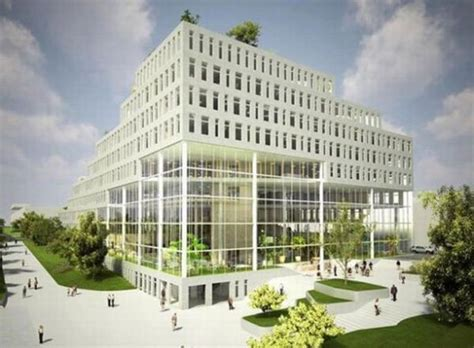 Architecture For A Green Future stepped building best green building designs for future offices green archi