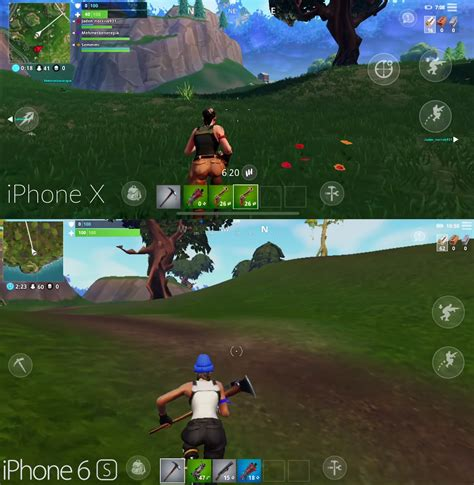 fortnite mobile compared   home console  pc