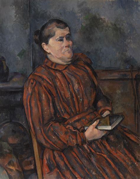 libro czanne portraits ritratto di donna arte