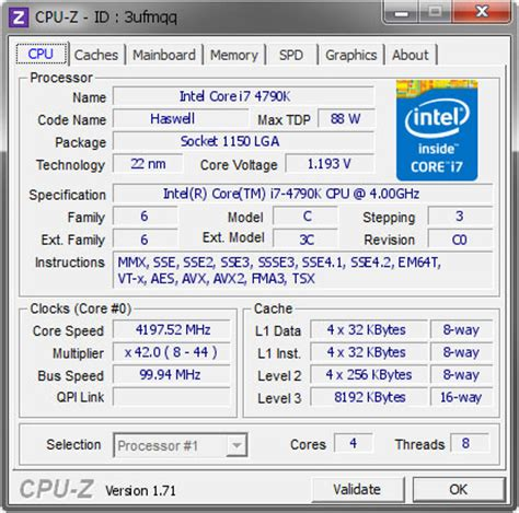 cpuid cpu z free download softlay.net