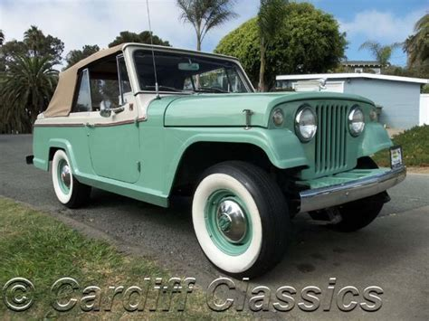 1967 Jeep Commando 1967 Used Jeep Jeepster Commando Continental At Cardiff