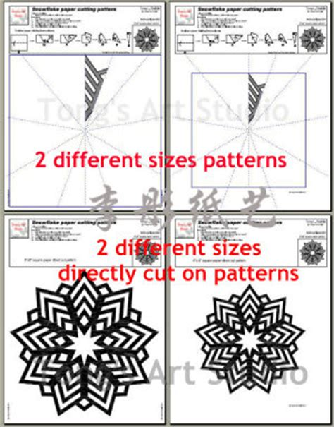 Paper Folding And Cutting Patterns - special fold and cut paper cutting patterns